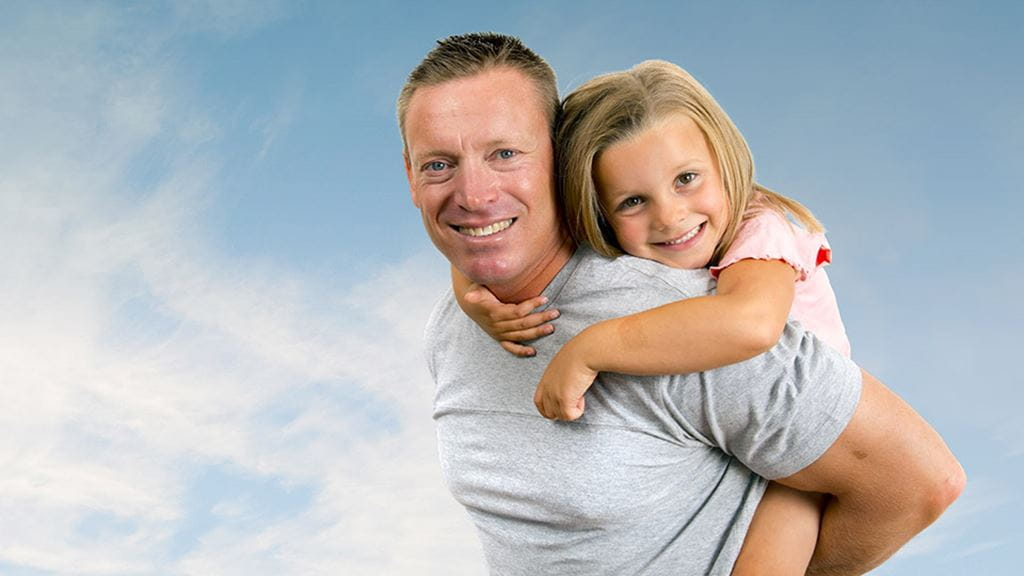 Father and daughter - BUSSQ Super